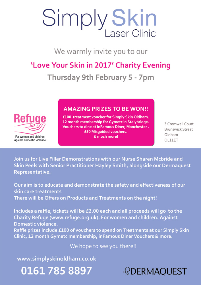 Dermaquest and Skincare Event at Simply Skin in Oldham