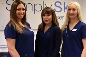Leah, Hayley & Ellie, Simply Skin Oldham