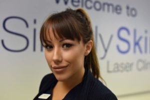 Hayley, Simply Skin Oldham Clinic Manager